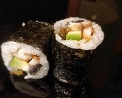 Sushi Ruko - maki anguille 6.5 euro