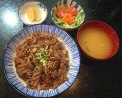 Sushi Ruko - gyudon 15 euro