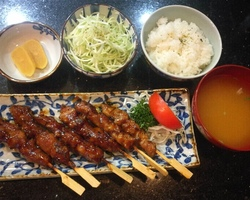 Sushi Ruko - yakitori 13.5 euro