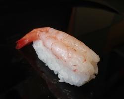 Sushi Ruko - amaebi 2.5 euro