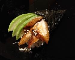 Sushi Ruko - temaki anguille 6.5 euro